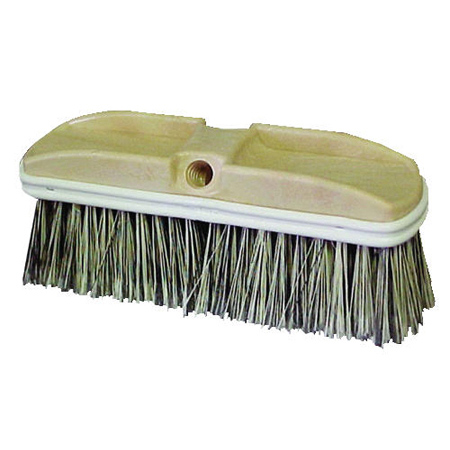 Truckwash Brush Flagged Bristles Vnl-bumper Gra 12