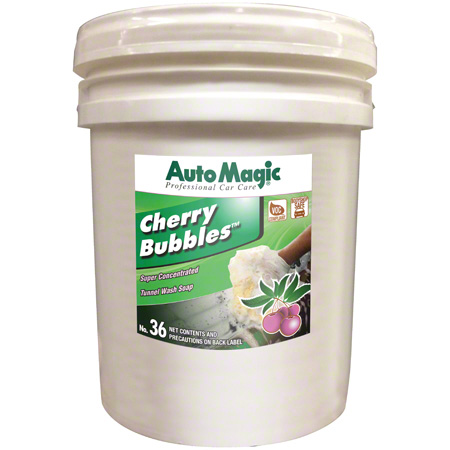 Auto Magic® Cherry Bubbles™ Car Wash Soap - 5 Gal.