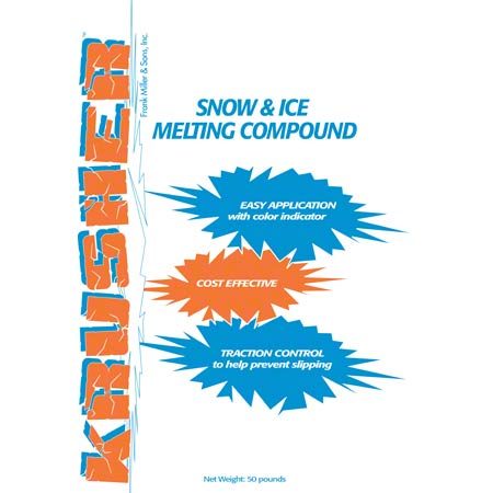 Krusher Snow & Ice Melting Compound - 50 lb. Box