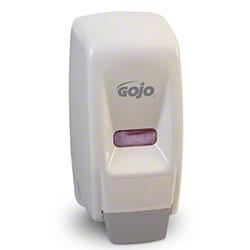 GOJO® 800 mL Bag-in-Box Dispenser - White