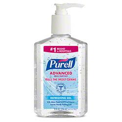 GOJO® Purell® Advanced Hand Sanitizer Gel - 8 oz.