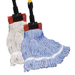"Golden Star® Comet™ Color Blend Wet Mop-MD,1 1/4"",Blue"