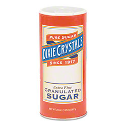 Diamond Crystal Granulated Sugar 20 oz. Canisters