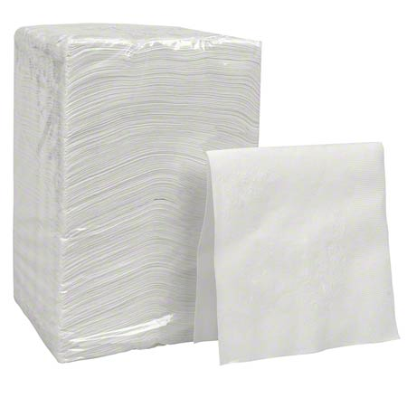 "GP Core 1 Ply Beverage Napkin - 9.5"" x 9.5"""