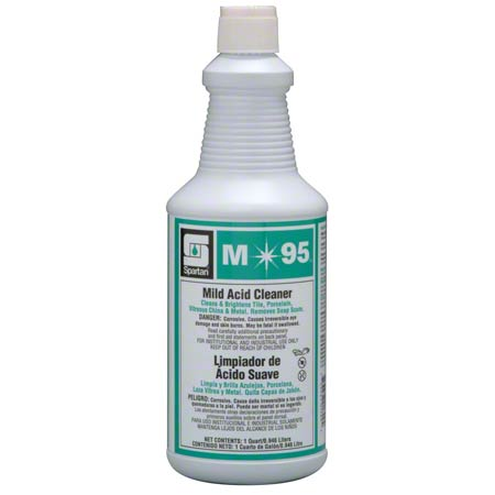 M-95 MILD ACID BATHROOM CLNR 12QTS 9.5%